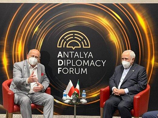 وزیران خارجه ایران و لهستان دیدار کردند