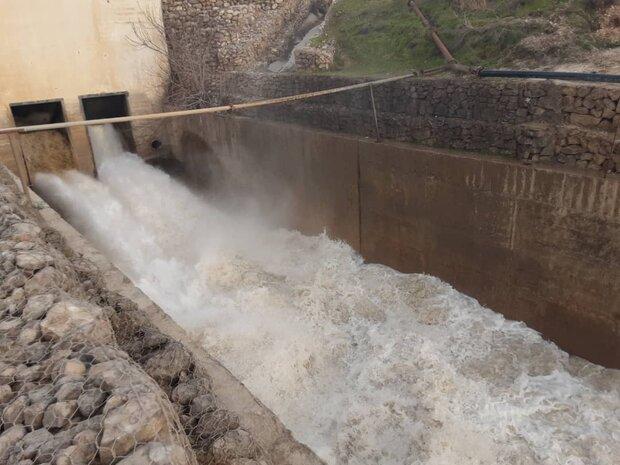 ورودی آب به سدها کشور ۴۷ درصد کاهش یافت