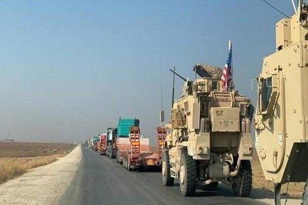 آمریکا یک کاروان نظامی دیگر از عراق وارد سوریه کرد