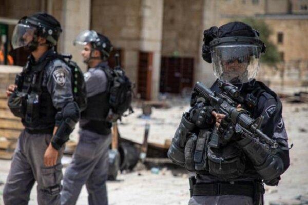 درگیری نظامیان صهیونیست با فلسطینی ها در الشیخ جراح قدس