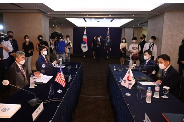 سئول-واشنگتن خاتمه کارگروه کره شمالی را بررسی می کنند