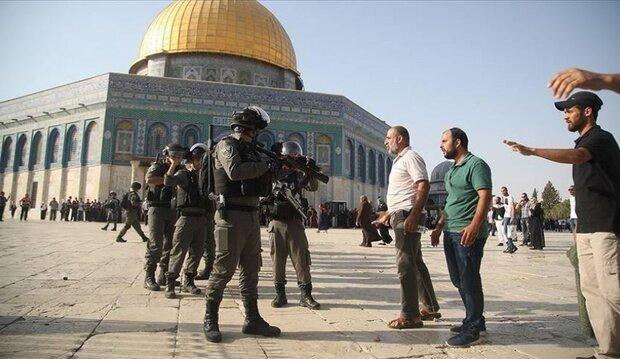 یورش صهیونیستها به مسجد الاقصی