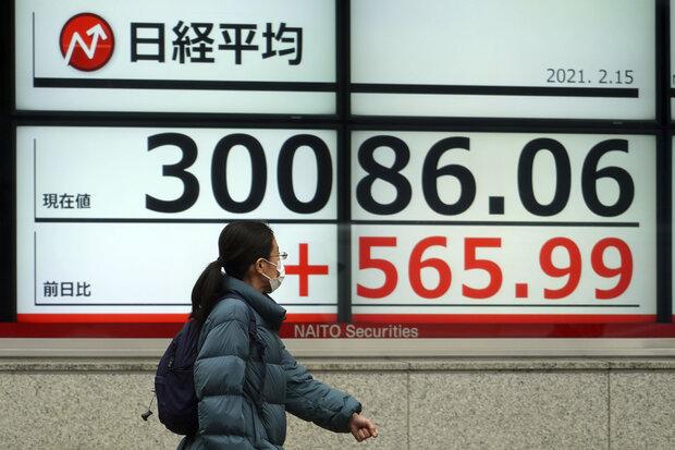 اغلب سهام آسیایی رشد کردند
