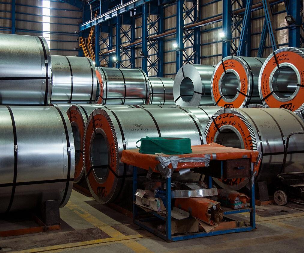 صادرات فولاد شرکتهای بزرگ 146 درصد زیاد شد