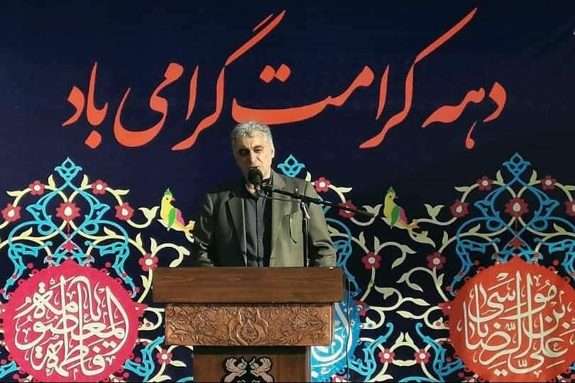 مراسم جشن بزرگ دهه کرامت در سرچشمه برگزار شد