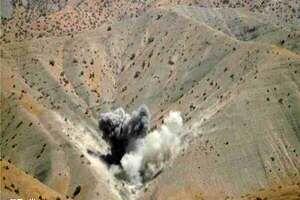بمباران شمال عراق توسط ترکیه