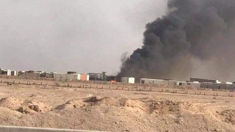 وقوع انفجار در انبار مهمات لشکر امام علی (ع) در نجف
