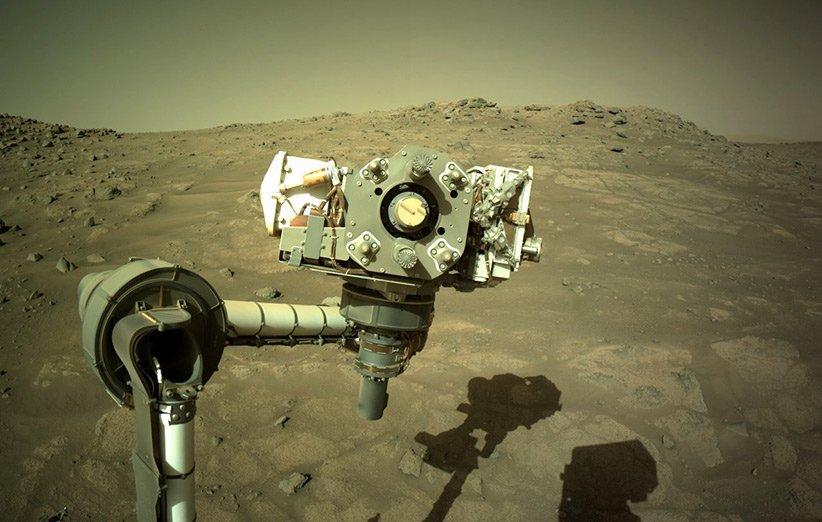 مریخنورد پشتکار برای جمعآوری نخستین نمونه سنگهای مریخ آماده میشود