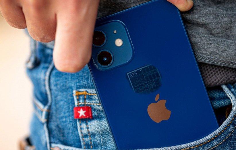 اپل ۱۰۰ میلیون چیپست A15 را برای آیفون ۱۳ سفارش داده است