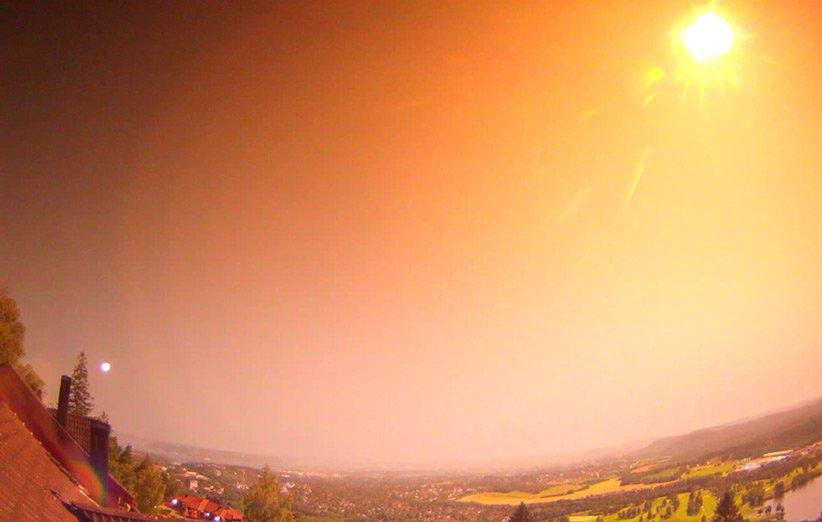 جستوجو برای یافتن بقایای شهابسنگ درخشان آسمان نروژ آغاز شده است