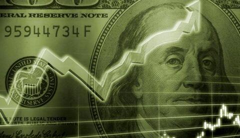 وضعیت رشد نرخ دلار در معاملات جهانی