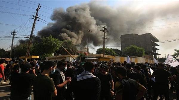 حمله پهپادی به انبار مهمات الحشدالشعبی در نجف اشرف