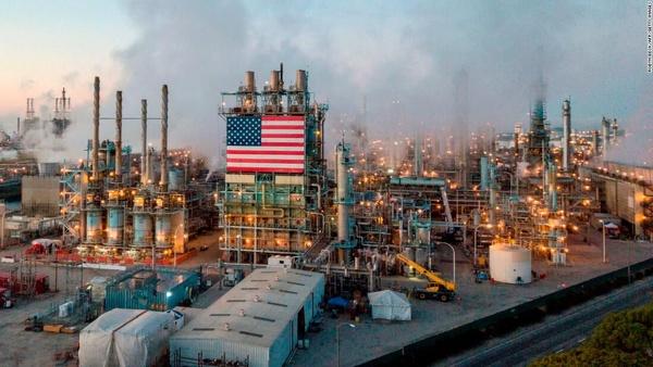 صادرات الانجی آمریکا ۴۲ درصد افزایش یافت