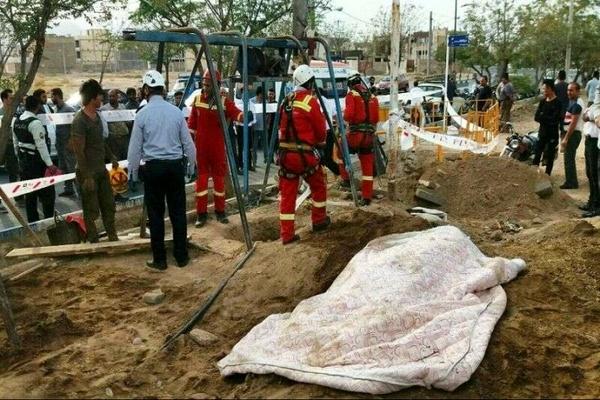 مرگ دو کارگر ساختمانی بر اثر سقوط از ارتفاع داربست