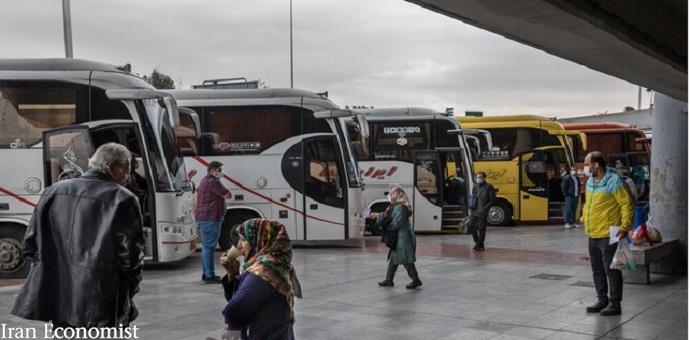 هجوم مسافران به اتوبوسهای بینشهری
