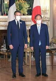 تعهد رهبران ژاپن و فرانسه بر تعمیق همکاری های امنیتی