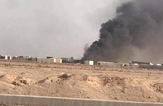 وقوع انفجار در انبار مهمات لشکر امام علی (ع) در نجف در پی حمله پهپادی
