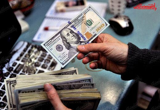 ارزش دلار افزایش یافت