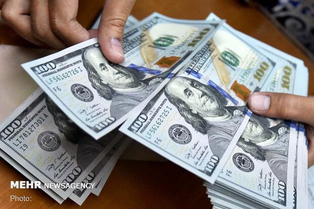 قیمت دلار ٢ مرداد ١۴٠٠ به ٢۴ هزار و ۵٩ تومان رسید