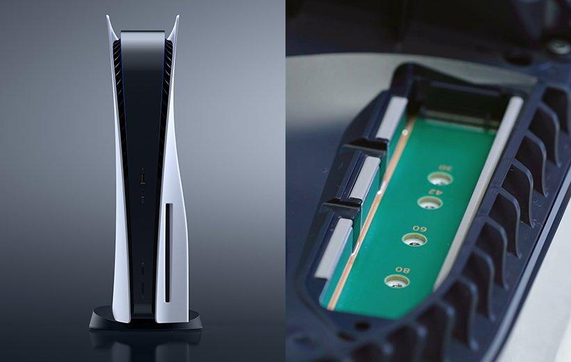 امکان افزایش حافظهی PS5 ممکن شد؛ جزییات اساسدیهای پشتیبانی شده