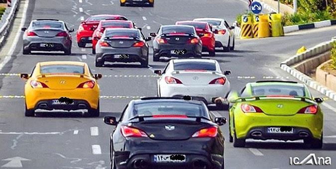 دولت حامی لوکس سواران و لاکچری بازها/ چرا دولت قانون اخذ مالیات از خودروهای گران قیمت را اجرا نکرد؟