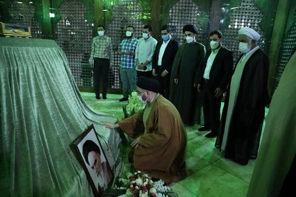 سید عمار حکیم وارد تهران شد
