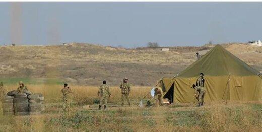 حمله خمپارهای ارمنستان به مواضع باکو در نخجوان