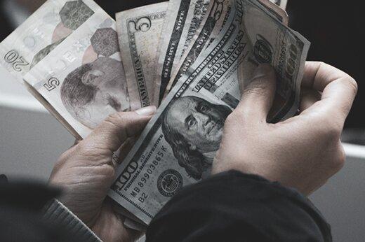 سیگنالی که به افزایش قیمت دلار داده شد/ دلار به پرواز در آمد