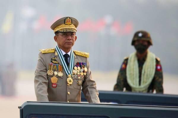 ارتش میانمار دولت موقت تشکیل می دهد