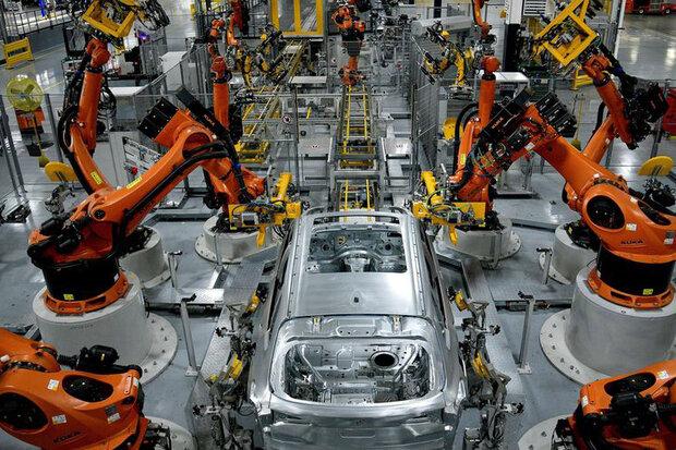 رشد بخش تولید آمریکا کند شد