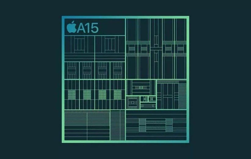 تراشهی A15 اپل از نظر CPU جهش بزرگی نسبت به نسل قبل ندارد