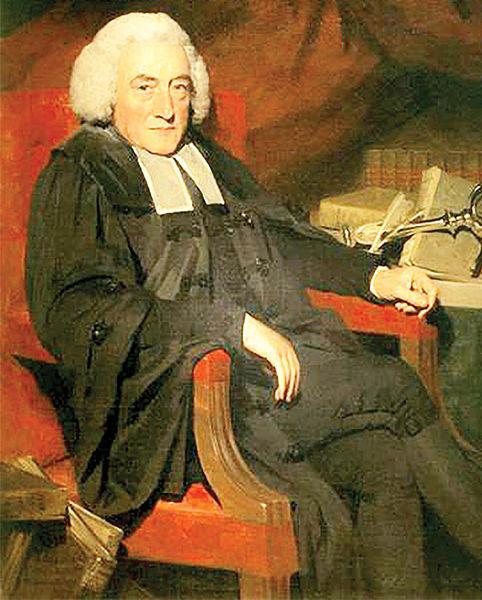 ویلیام رابرتسون مورخ و مدیر دانشگاه ادینبورگ