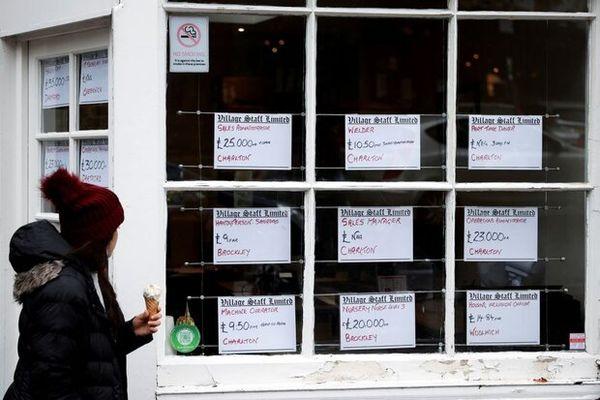 کمبود نیروی کار در انگلیس