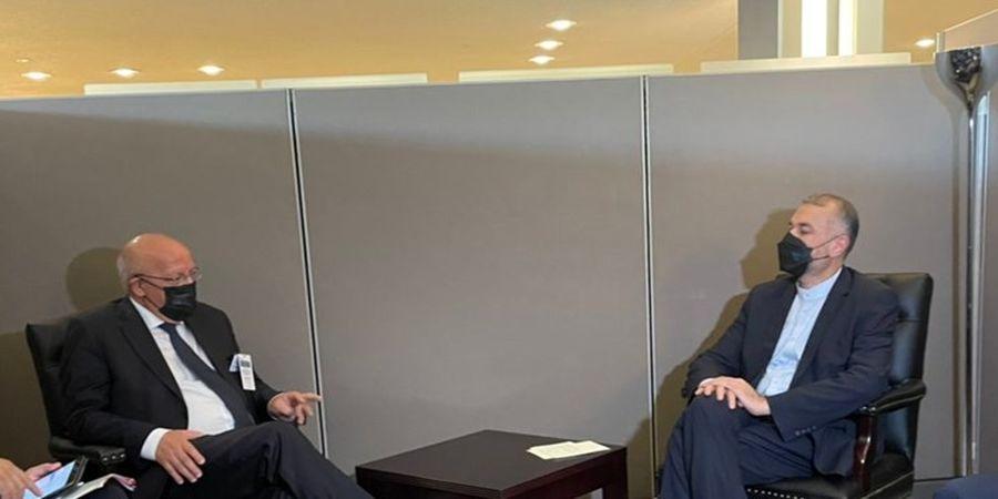 حرکت جالب امیرعبداللهیان درمقابل وزیر خارجه پرتغال + فیلم