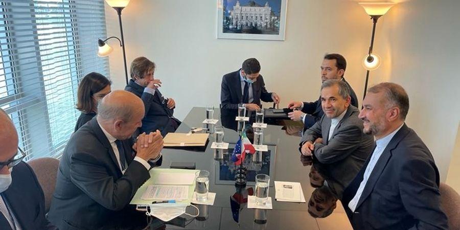 دعوت از امیرعبداللهیان برای سفر به پاریس/وزیر خارجه: برای بازگشت آمریکا به برجام تردید داریم