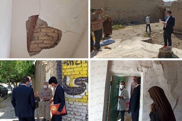 بیمه کوثر در حال رسیدگی به خسارتهای زلزله قوچان