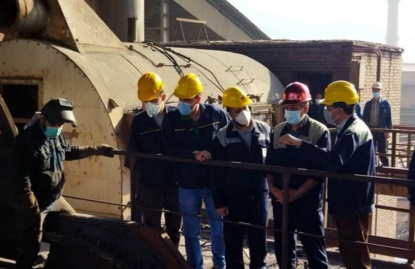 تعمیرات اساسی آگلوماشین شماره یک شرکت ذوب آهن اصفهان با موفقیت انجام شد