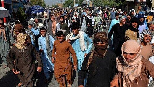 تظاهرات مردم قندهار علیه طالبان