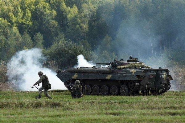 آمریکا و اوکراین رزمایش مشترک نظامی برگزار می کنند