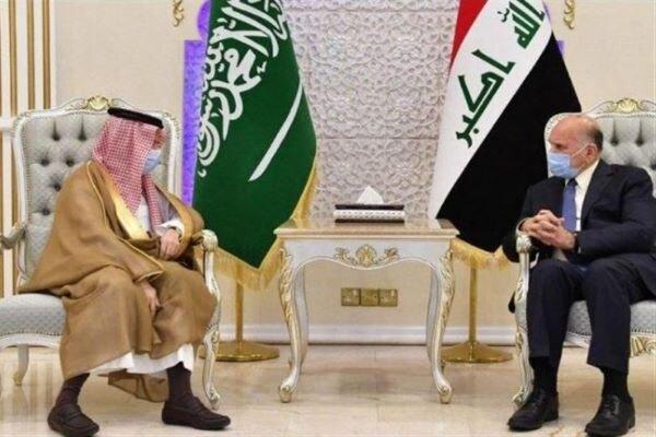 وزرای خارجه عراق و عربستان با یکدیگر دیدار کردند