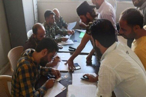 صدها فرد مسلح در «طفس» درعا به آشتی ملی ملحق شدند