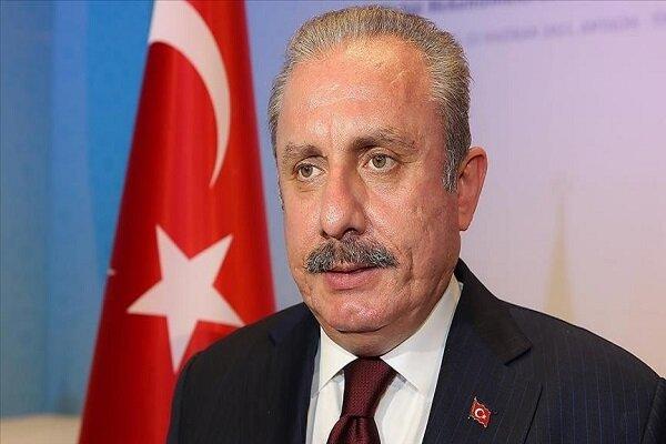 دیدار روسای پارلمان ترکیه و اسپانیا در مادرید