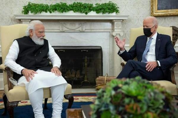 «جو بایدن» و نخست وزیر هند در کاخ سفید دیدار می کنند