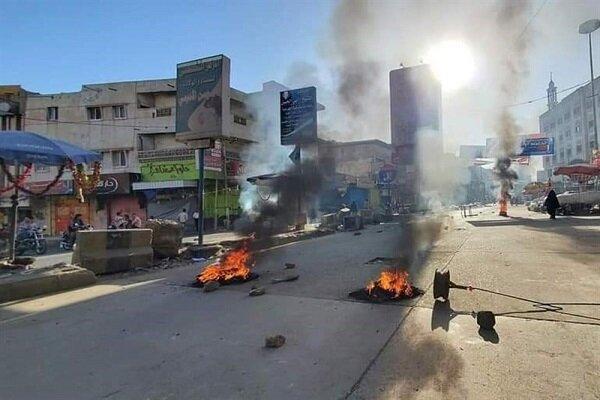 استفاده نیروهای «هادی» از گلوله های جنگی علیه معترضان در تعز یمن