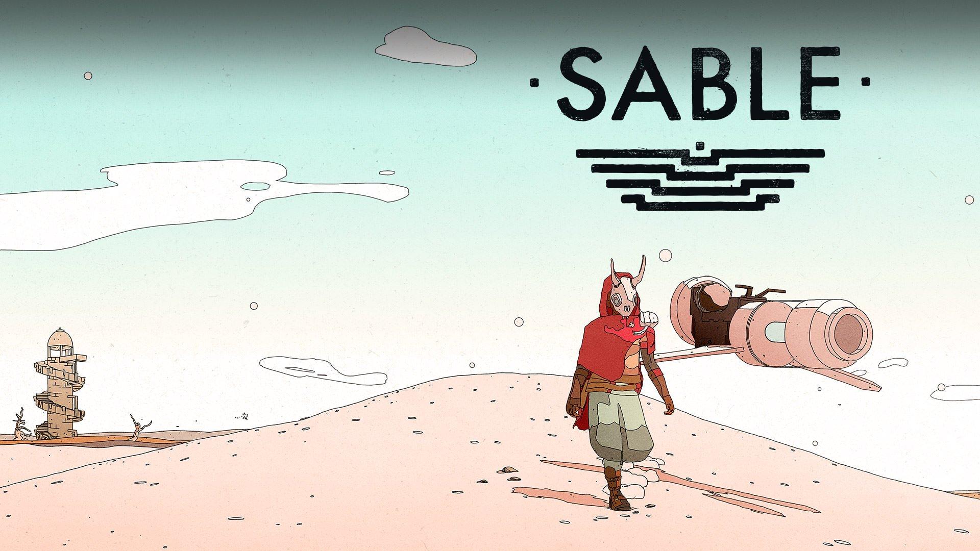 نمایش گرافیک خاص و جذاب Sable در تریلر هنگام عرضه این بازی