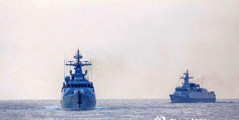 رزمناوهای آمریکا و کانادا کاملا زیر نظر ارتش چین