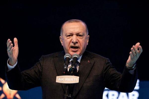 حمله اردوغان به سیاستمداران اروپایی
