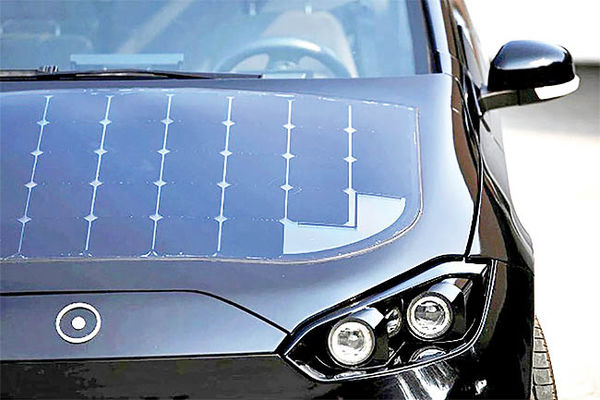عرضه خودروی خورشیدی در ۲۰۲۳