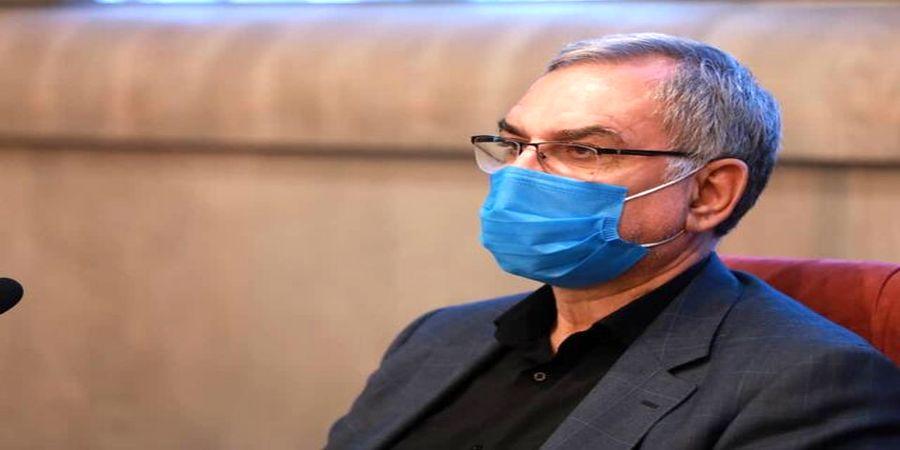 ابراز نگرانی وزیر بهداشت از پیک ششم کرونا