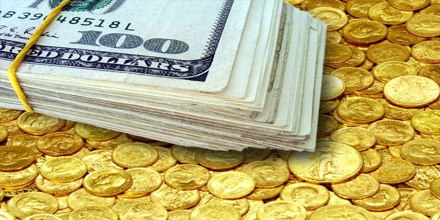 نرخ ارز دلار سکه طلا یورو امروز چهارشنبه ۱۴۰۰/۰۸/۰۵  طلا و دلار گران شدند